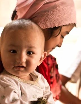Uyghur kids in Kashgar