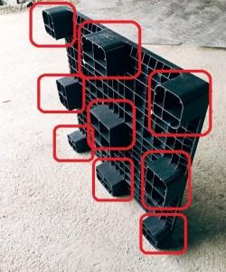 九宮型棧板