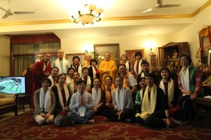 3 (Group with Tie Situ Rinpoche)