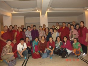 46 (Group wtih Tergar Staff and Holiness Karmapa's Sister)