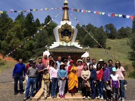 Stupa Anniversary
