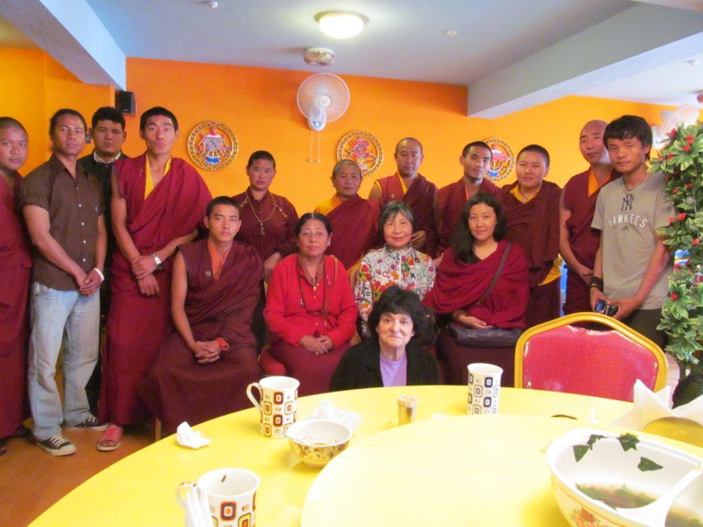 16_Dorje Palmo Hosting Farewell Dinner in Kathmandu