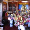 Chanting in Stupa