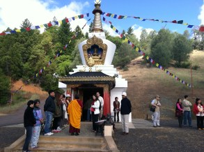Explaining Benifits of Stupa