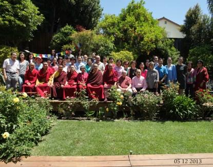Gathering for Buddha Birthday