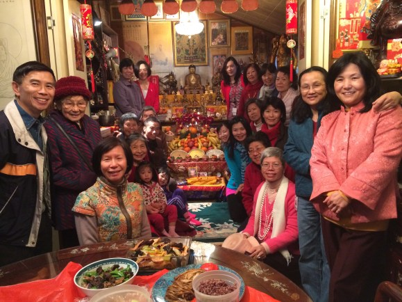 Group Gathering for Chinese New Years