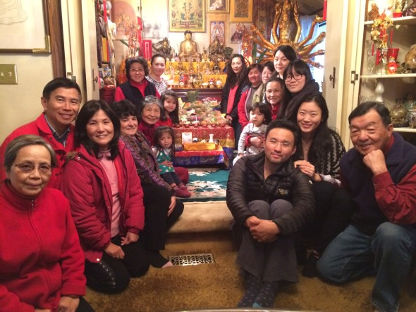 Group for Amitabha Birthday