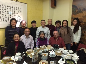 12. Luncheon in Taipei with Friends (Enroute to Nepal)