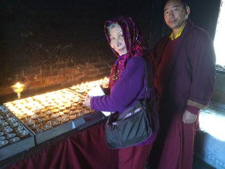 4. Butter Lamps at Monastery