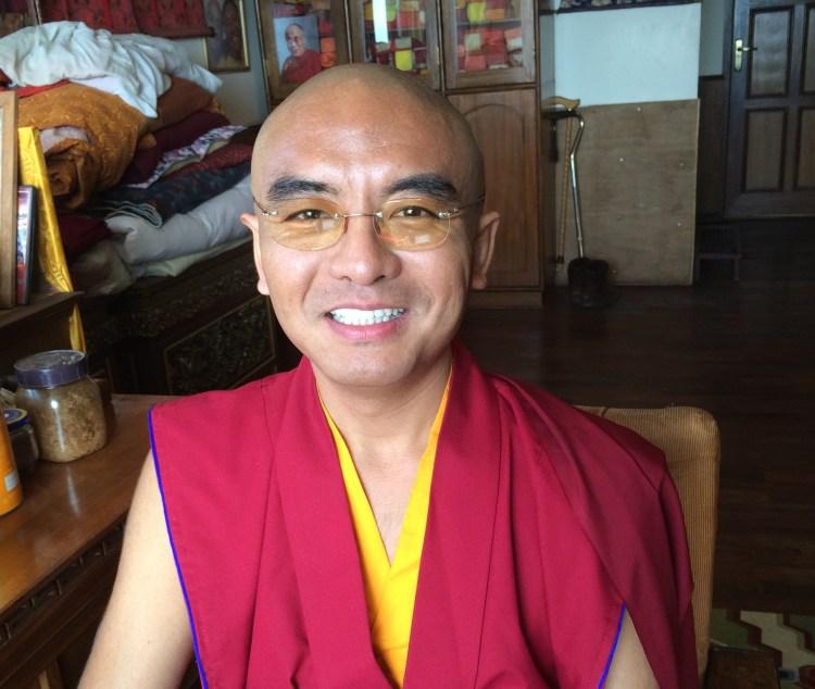 Mingyur Rinpoche at Tergar Osel Ling