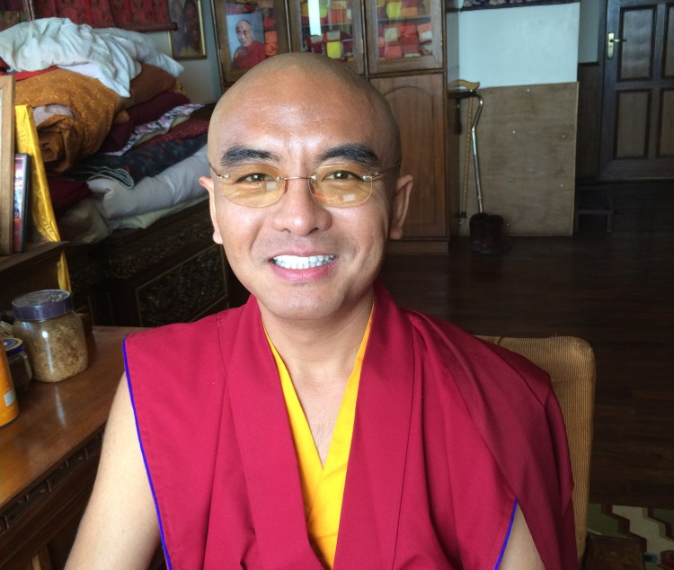Mingyur Rinpoche at Tergar Osel Ling