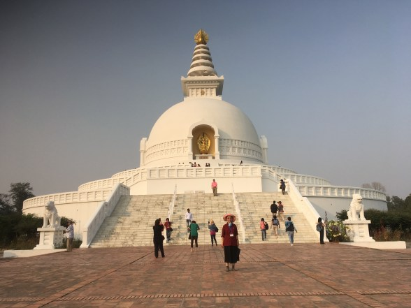 14 Gloria at Japanese Peace Pagoda