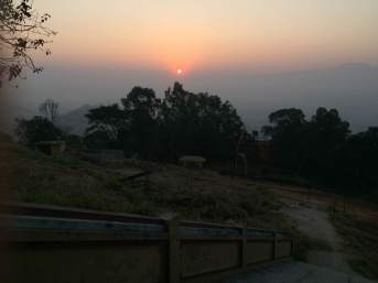 20.1 Sunrise at Monastery