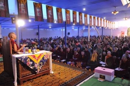 27 Rinpoche Teaching at Tergar Olsel Ling