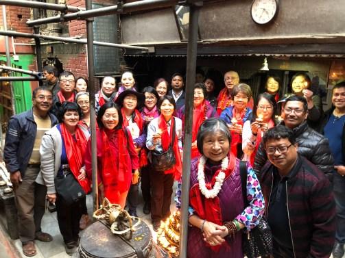 42 Group at Mahabuddha Temple
