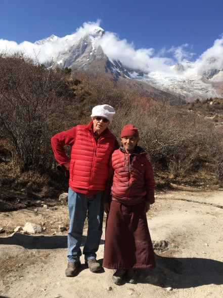 13. Dwayne with Rinpoche's Uncle