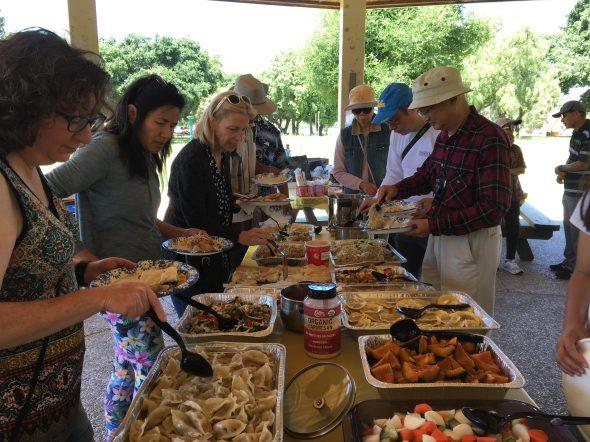 Gathering Food