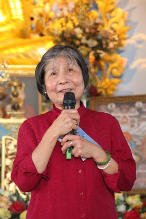 38 (Dorje Palmo Speaking to Lamas)