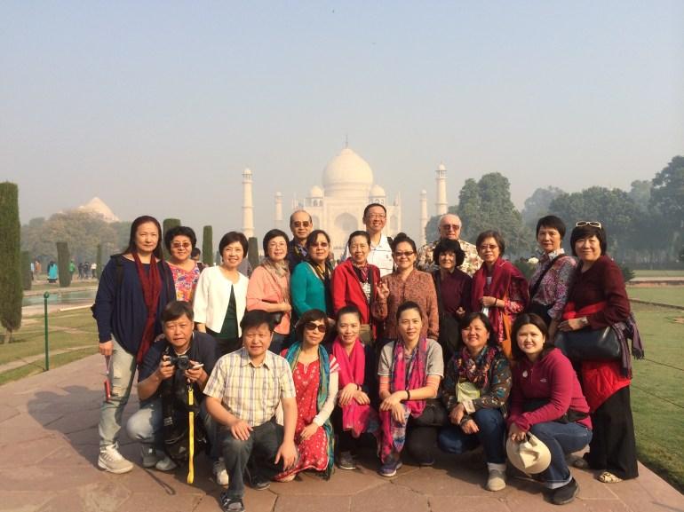 47 (Group at Taj Mahal)