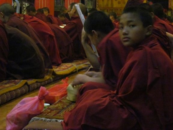 10_Tsok Offerings for Monks at Puja