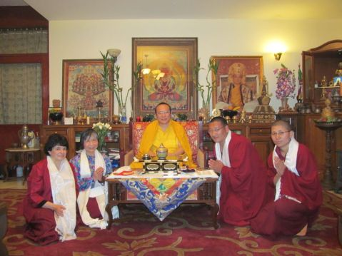 12_Group Photo with H_H_Tai Situ Rinpoche