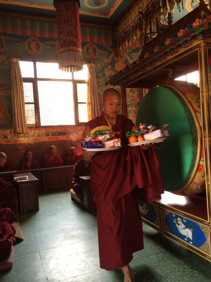 15. Offerings at Guru Rinpoche Tsok