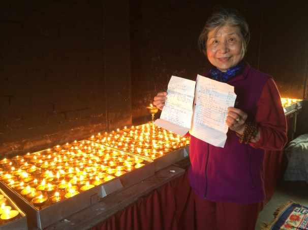 3. Butter Lamp Offerings at Monastery
