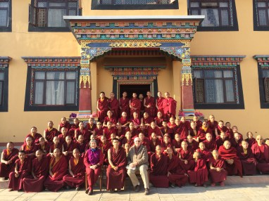 8. Group Photo at Tergar Osel Ling