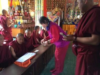 9. Guru Rinpoche Tsok Offering to Lamas