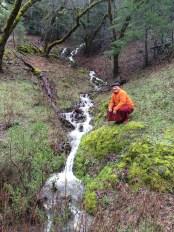 Khenpo at Stream