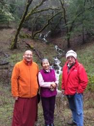 Khenpo Gyurme, Dorje Palmo and Dwayne