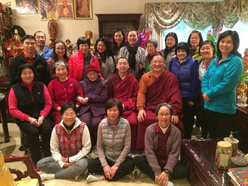 Khenpo Teaching Group Photo