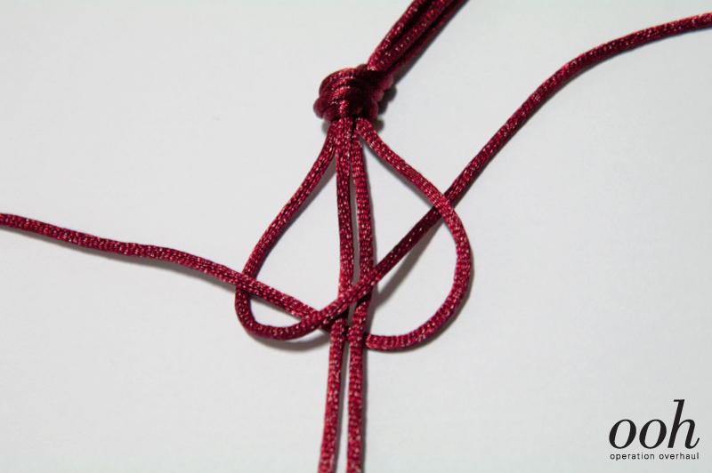 Start a 4-strand braid