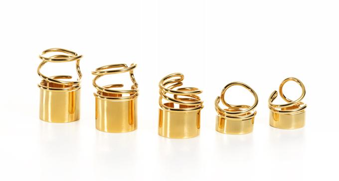 Balenciaga ss13 rings