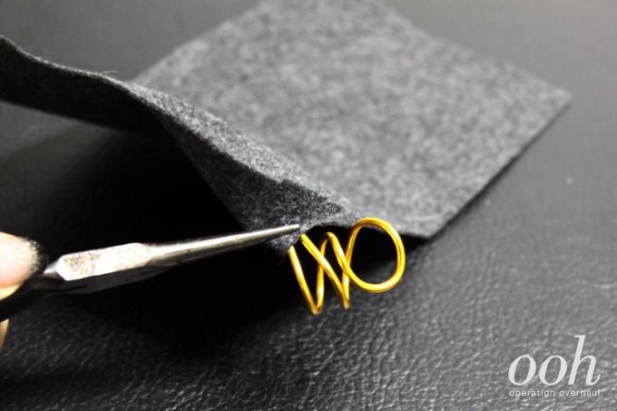 Operation Overhaul DIY Balenciaga Rings Step Three