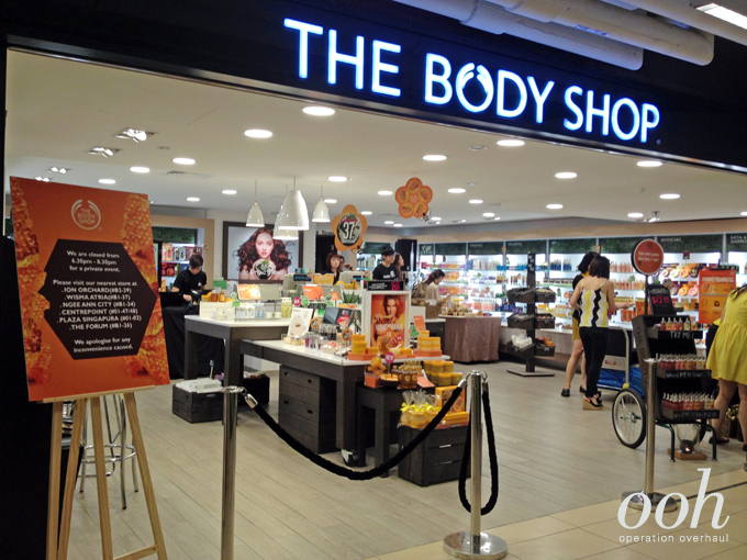 Operation Overhaul for The Body Shop - The Body Shop at Paragon