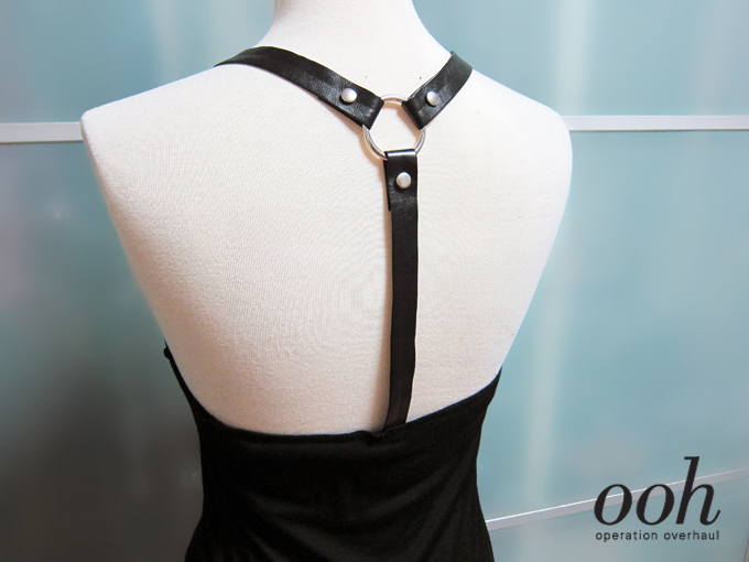Operation Overhaul - Bershka Inspired Drop Harness Top Back Deets