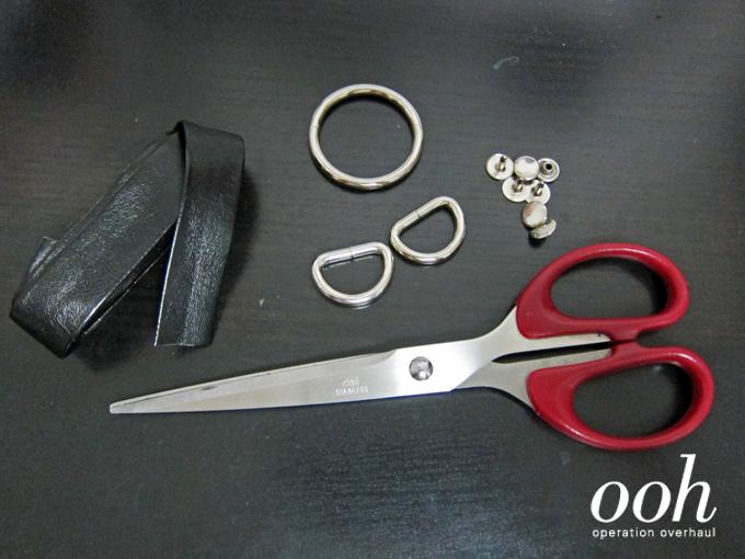 Operation Overhaul - Bershka Inspired Drop Harness Top Materials