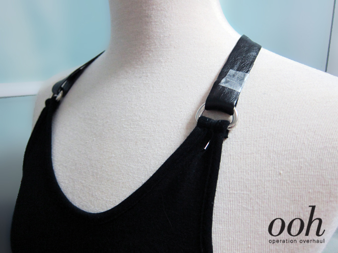 Operation Overhaul - Bershka Inspired Drop Harness Top Position Straps