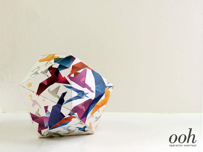 OOH - Paper Geoball 3