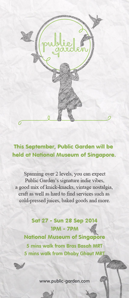 Public Garden Graphic Banner 27 - 28 Sep 2014