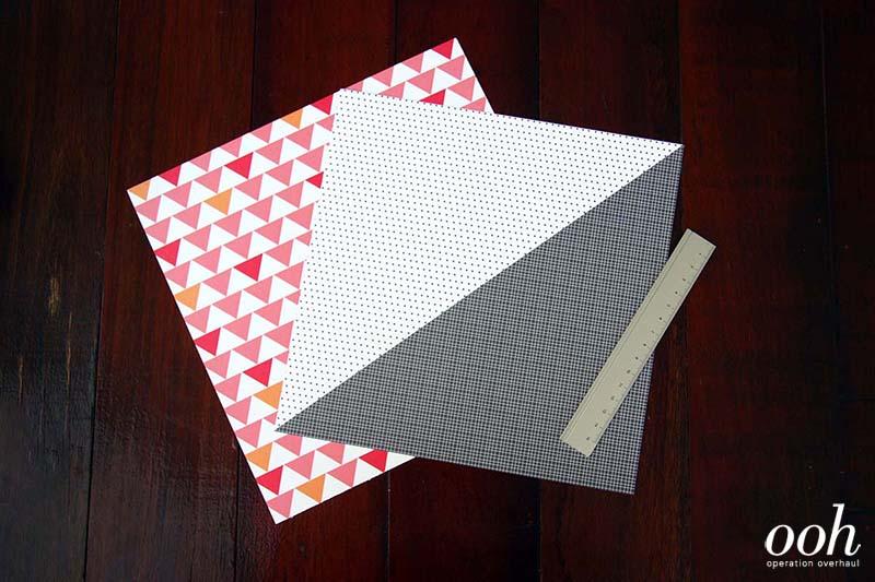 OOH - Origami Namecard Holder Materials