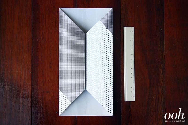 OOH - Origami Namecard Holder Step 4