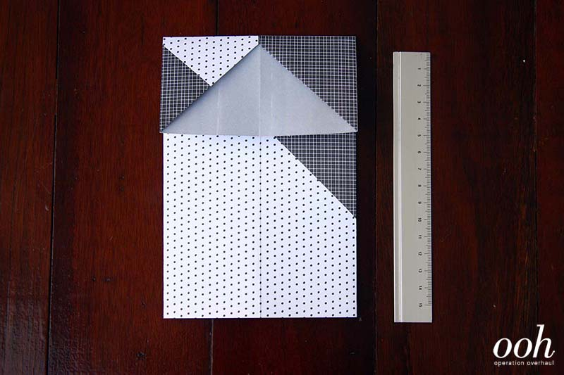 OOH - Origami Namecard Holder Step 5
