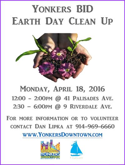 Yonkers-BID-Earth-Day-Clean-Up