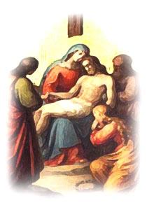 Resultado de imagen para imagenes jesus bajado de la cruz
