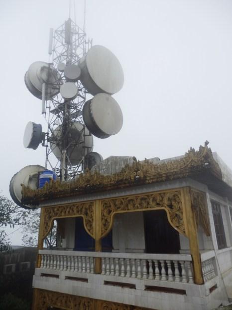 La casa de los tumores: una antena para comunicar con el resto del mundo