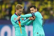صورة اللاعب فرينكي دي يونج يكشف عن طموحاته مع نادي برشلونة