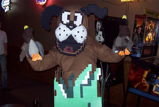 duck hunt deguisement halloween adultes