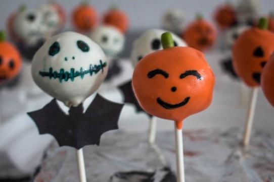 recettes halloween cake pop jack
